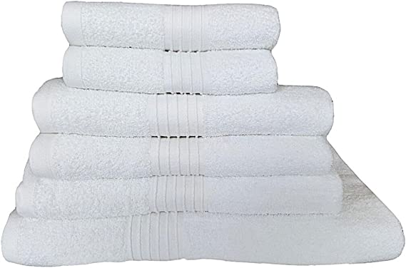 Toallas de algodón egipcio 700 GSM Baño Grande Baño Toallas De Hojas De Tamaño Grande muy suave peinado muy absorbente alta calidad toallas, 7 colores disponibles, Blanco, Toalla de baño Jumbo: Amazon.es: