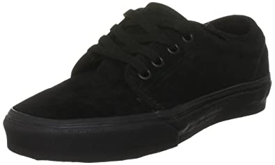 d1d9ce2997 Image Unavailable. Image not available for. Color  Vans - U 106 Vulcanized  Shoes In Black Black ...