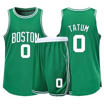 LCY Camiseta de Baloncesto de los Hombres - NBA Jersey Celtics # 0 ...