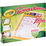 Crayola, Dry Erase Activity Centre, Writing Board,  Includes Learning templates and 4 Whiteboard Bullet Tip Markers