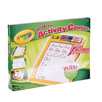 crayola dry erase activity center dry erase boards amazon canada