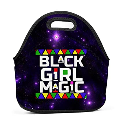 Amazon com - HNkiha Lunch Bags Black Girl Magic Creative