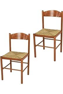 Tommychairs Set 2 sedie Classiche Pisa 38 per Cucina, Bar e ...