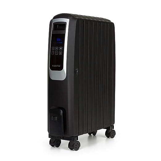 KLARSTEIN Thermaxx Noir radiador de Aceite - 2500 W de Potencia, 3 ...