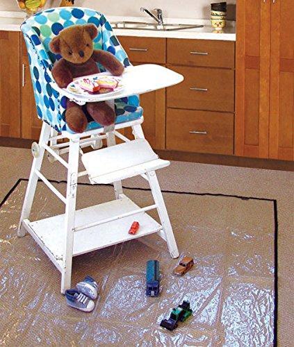 Zpm High Chair Splash Matfloor Protectortable Protectorclear Pvc