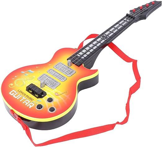 Dabixx Juguete Musical, Música Guitarra eléctrica 4 Cuerdas ...