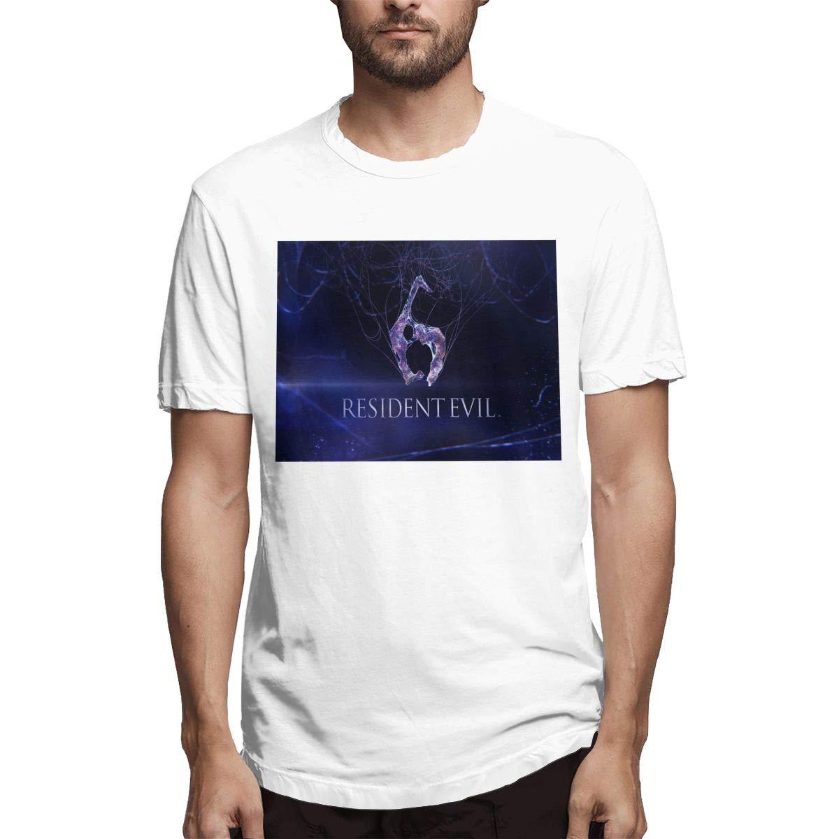 LANBRELLA Resident Evil Men Humor Crew Neck Short Sleeve T Shirt