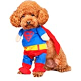 BlueSpace Pet Costume Dog Cat Pets Suit Halloween Costumes Pets Clothing for Small Dogs and Cats, Perfect for Halloween Christmas and Theme Party