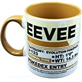 Pokemon Pokedex Eevee 20oz Ceramic Mug