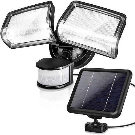 Waterproof 154 LEDs Super Bright Motion Sensor Solar Powered Security Lights