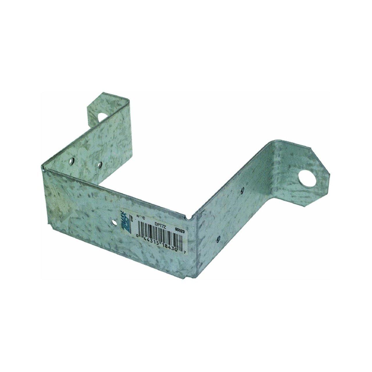 Simpson Strong-Tie Deck Post Tie 3-1/2''W X 3-1/2'' D 14 Ga Zmax Steel Fasteners 5 - 10 D