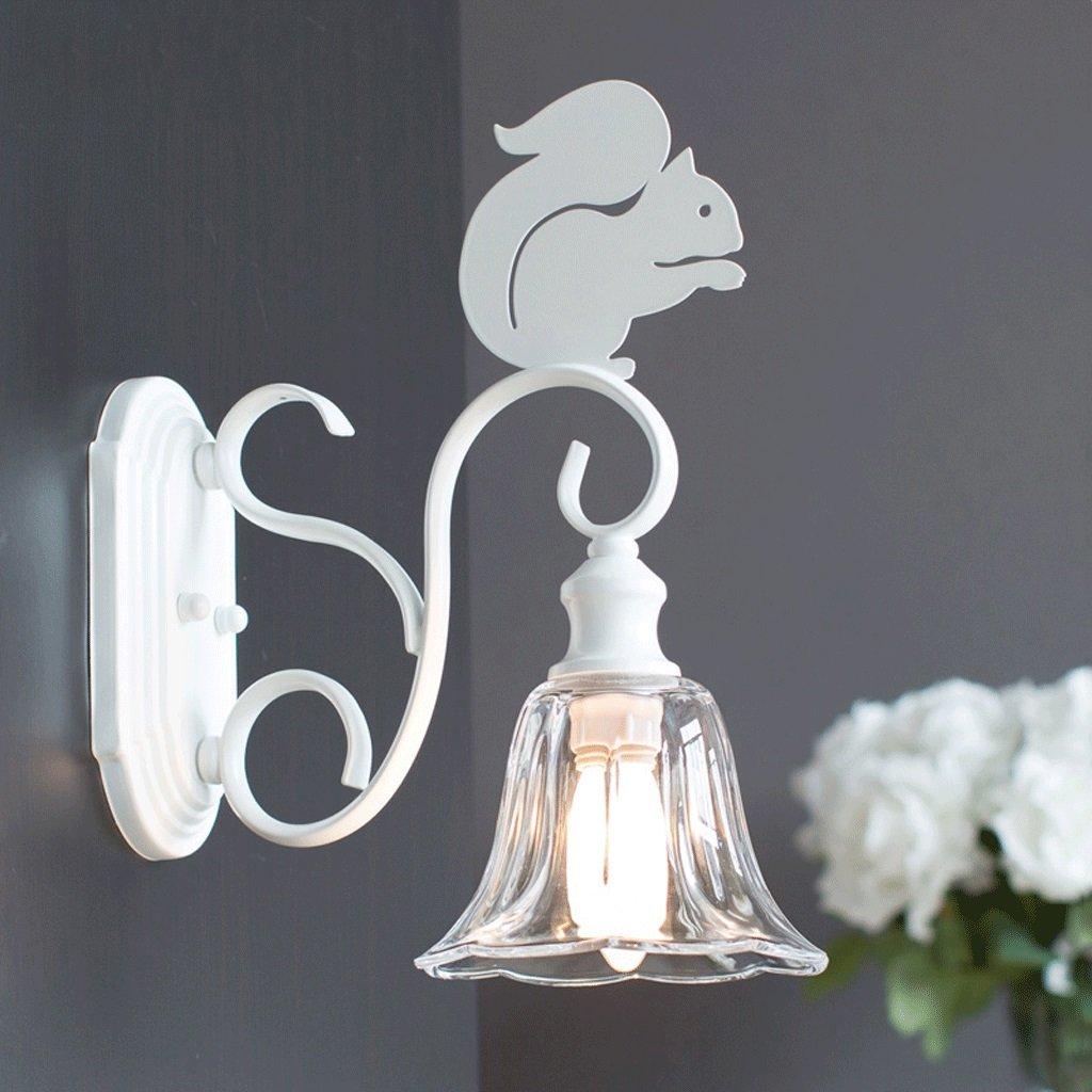 Unbekannt GJ Eisen Kunst Wand Lampe - Schlafzimmer Kinderzimmer Treppe Gang Wohnzimmer Küche Korridor Eisen Kunst Wandleuchte Leuchte GJV