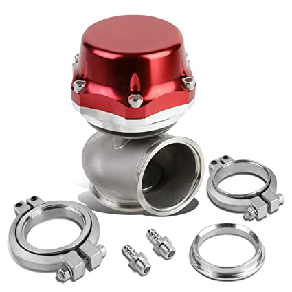 Amazon.com: DNA Motoring WG-TS-50MM-RD External Turbo Manifold Wastegate: Automotive