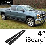 nerf bars 2007 chevy crew cab - eBoard Running Boards Black 4