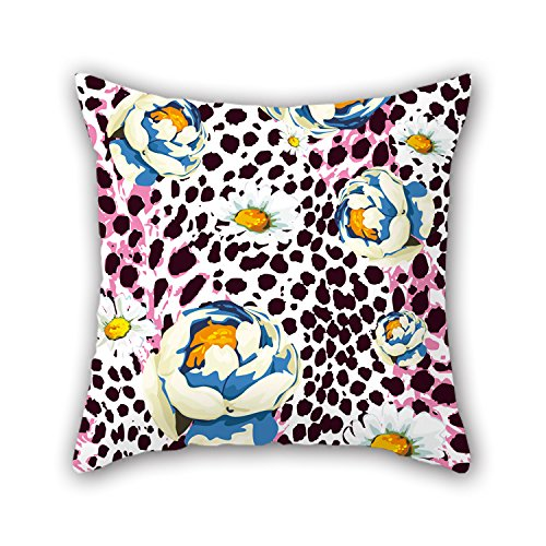 Artistdecor Flower Throw Christmas Pillow Covers 18 X 18 Inches / 45 By 45 Cm Best Choice For Dance Room Kids Gf Festival Outdoor Kids Boys With 2 Sides