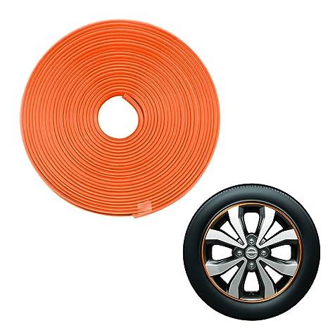 fly5d 8 M/roll cubo de rueda coche neumático adhesivo coche decoración estilo tira rueda