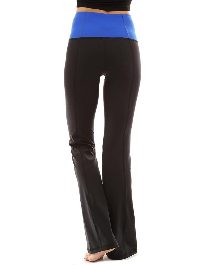 PattyBoutik Women/'s Shaping Series Bootcut Yoga Pants