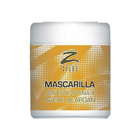 Mascarilla Para El Pelo con Queratina y Aceite de Argán - 500 ml - Todo Tipo
