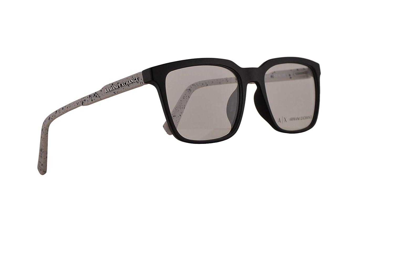Amazon.com: Armani Exchange AX3045F - Gafas (55-18-140 ...