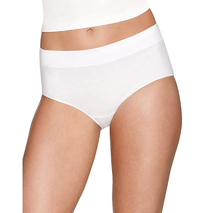 020e2ae6e19 Image Unavailable. Image not available for. Color  Hanes X-Temp Constant  Comfort Women s Modern Brief Panties 4-Pack