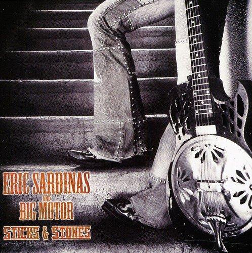 CD : Eric Sardinas - Sticks & Stones (CD)