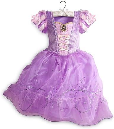 Disney Tienda Princesas Enredados Rapunzel niña Disfraz de ...