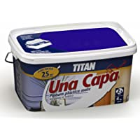 Titan M125536 - Pintura plastica monocapa mate