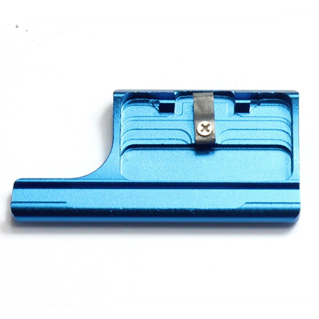 GoPro Hero 3+ 4用メタルカバー 防水ケースロック ブルー 035   B07KSZSCW5