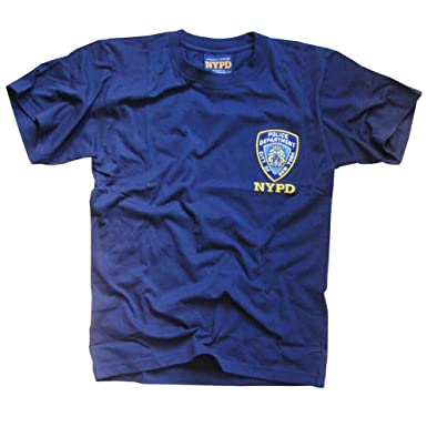 666b1030c Amazon.com: NYPD T-Shirt - Officially Licensed New York Police ...