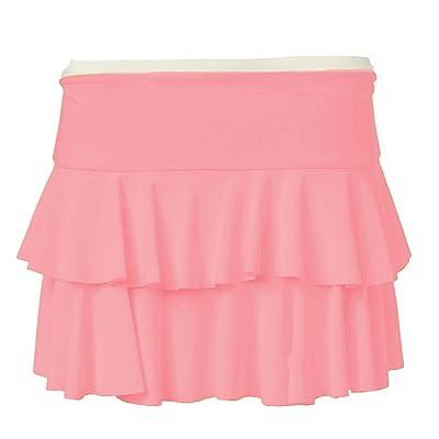 Forever Womens Beautiful Neon Rara Flared Hot Mini Skirt at Women's Clothing store