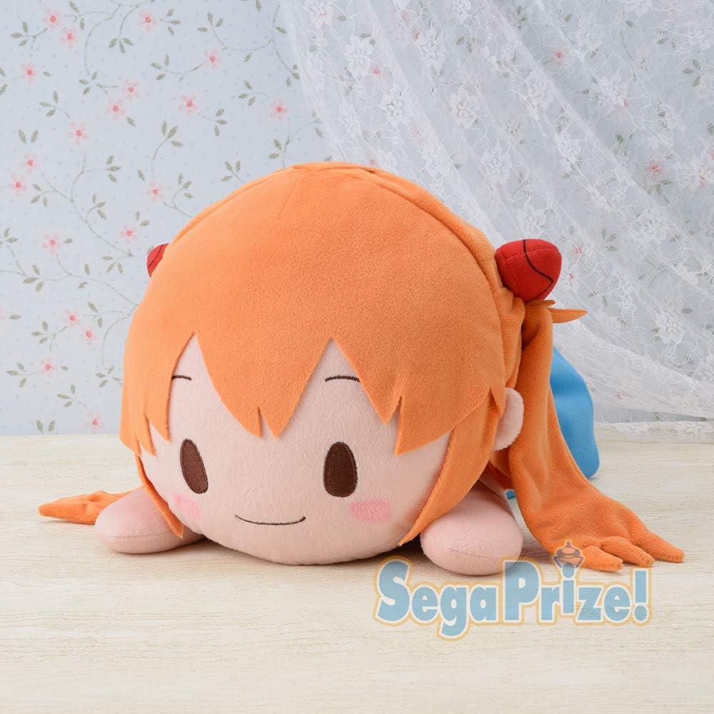 Neon Genesis Evangelion Asuka Mega Jumbo Nesoberi Plush - Asuka