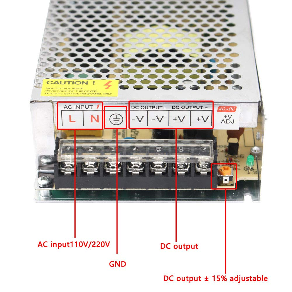 Utini Hot Selling s-40 Series Output 40W AC to DC Switching Power Supply