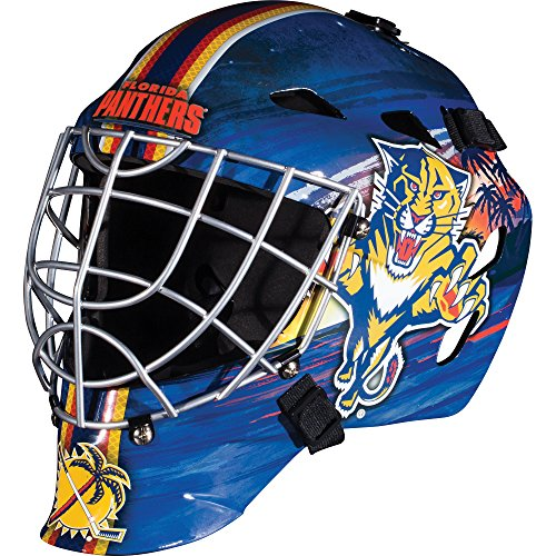 Panthers Multi Sport Helmet - Franklin Sports GFM 1500 NHL Florida Panthers Goalie Face Mask
