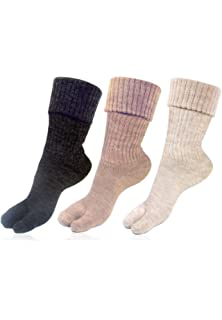 e8d25c28783 RC. ROYAL CLASS Women s Warm Woolen Calf Length Thumb Socks ...