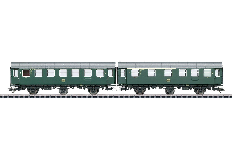 Märklin 43173 Umbauwagenpaar 1./2.Kl.+2.Kl.DB, Fahrzeug