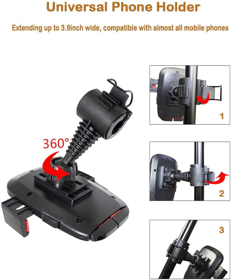 3 Light Modes//10 Brightness Dimmable LED Beauty Lamp for Vlog//Live Stream//Make Up//YouTube ldab 6 Selfie Ring Light with 40 Adjustable Tripod Stand /& Panda Phone Holder Compatible with iOS//Android