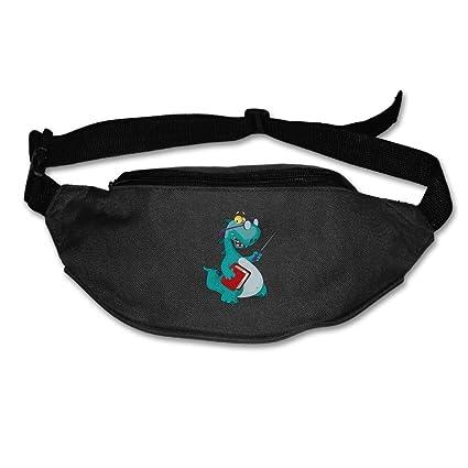 Cartoon Dinosaur Sport Waist Pack Fanny Pack Adjustable For Run