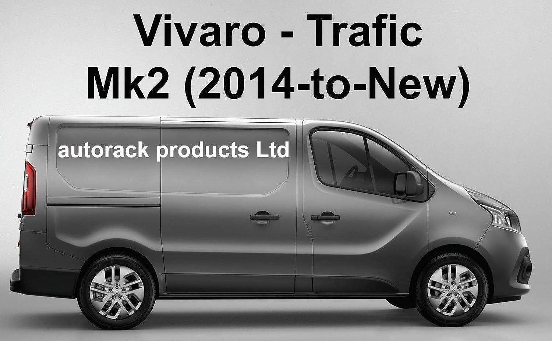 /à partir de 2014 Autorack Products Rack de Toit 4 Barres avec Rouleau pour Renault Trafic