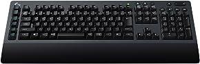 ゲーミングキーボード ロジクール G613 ワイヤレス メカニカル LIGHTSPEED Bluetooth対応 パームレスト ROMER-G