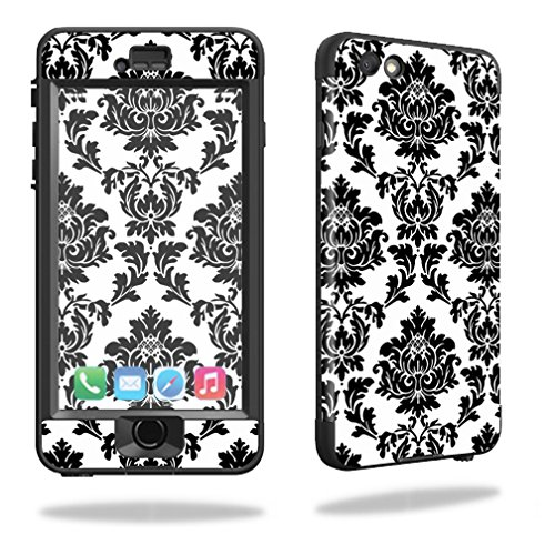 - MightySkins Protective Vinyl Skin Decal for Lifeproof iPhone 6/6S Plus nuud cover wrap sticker skins Vintage Damask