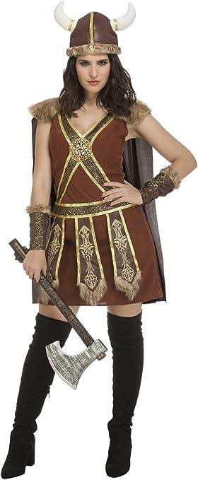 My Other Me Me-204197 Disfraz de vikinga guerrera para mujer, M-L ...