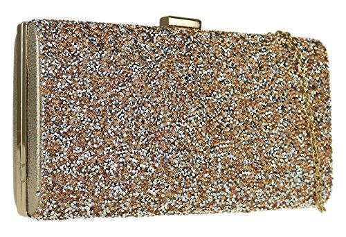 Champn de Handbags mujer para Girly Sinttico Cartera mano Material de wzcfE