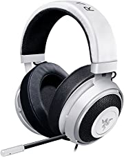 Razer Kraken Pro V2 - Oval Ear Cushions - Analog Gaming Headset for PC, Xbox One, Playstation 4, and Nintendo Switch - White
