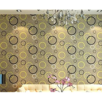 qihang modern minimalit circle patterns style wallpaper