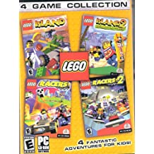 LEGO 4 Game Collection: Island, Island 2, Racers, Racers 2 PC CD-Rom