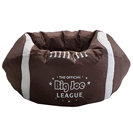 Comfort Research Big Joe Football Bean Bag Chair, Kids Bean Bags