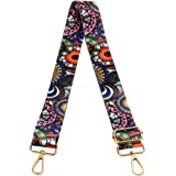 Crossbody Strap for Purses Replacement Adjustable Guitar Multicolor Style Handbag Straps