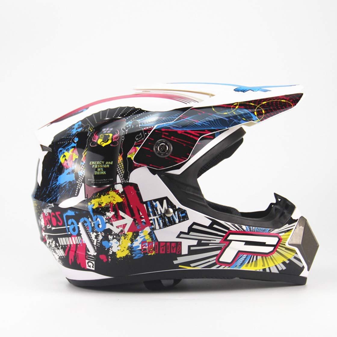 Ysayc Fahrrad Magnetische Gürtelbrille Helme Motorrad-Ausrüstung im Freien bunter Leichter Multifunktionsfahrradschutz Abnehmbarer Visier Deluxe-Helm, Blau