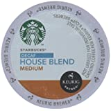 Starbucks K-cups Decaf House Blend K-Cups House Blend, 10 CT (Pack of 6)