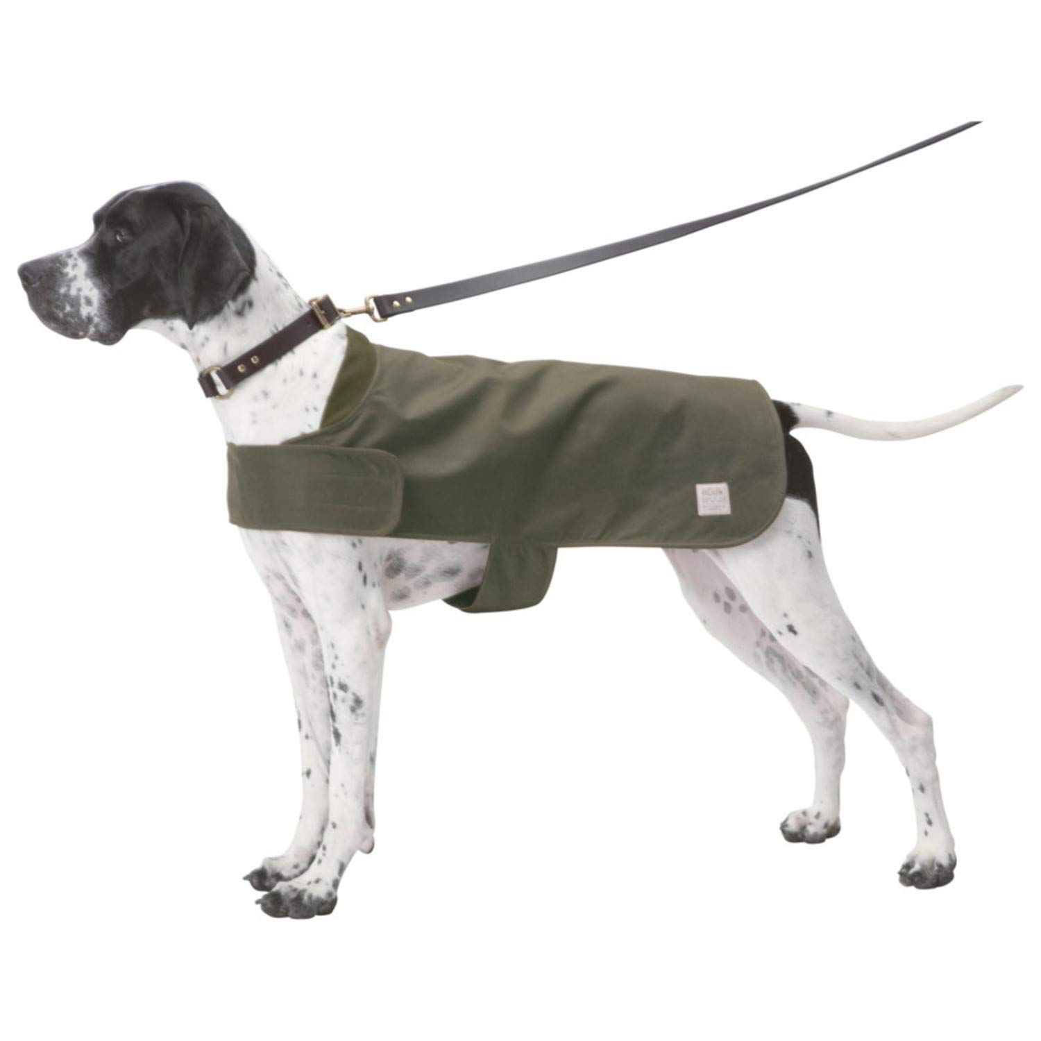 Shelter Dog Coat in Otter Green Size Small by Filson